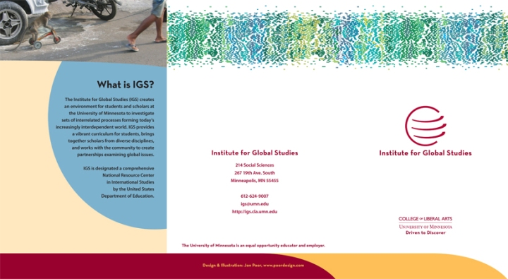 IGS brochure outside