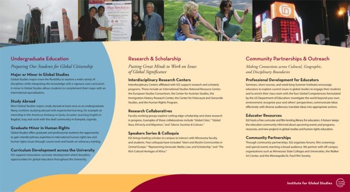 IGS brochure inside